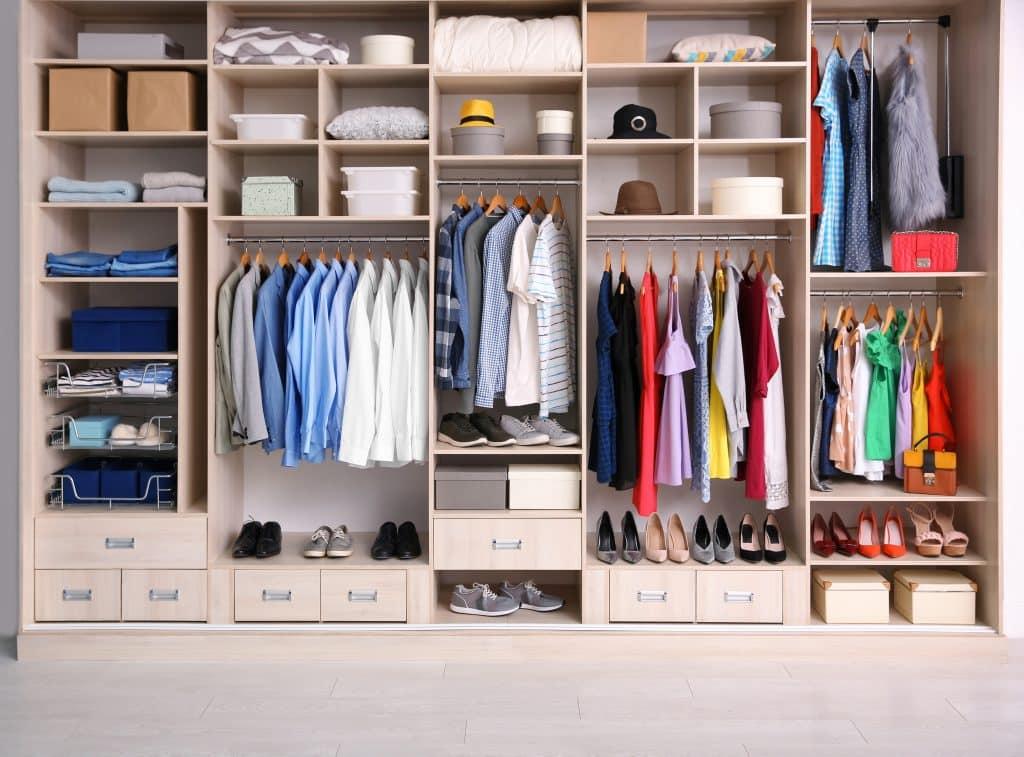 A very desirable wardrobe!